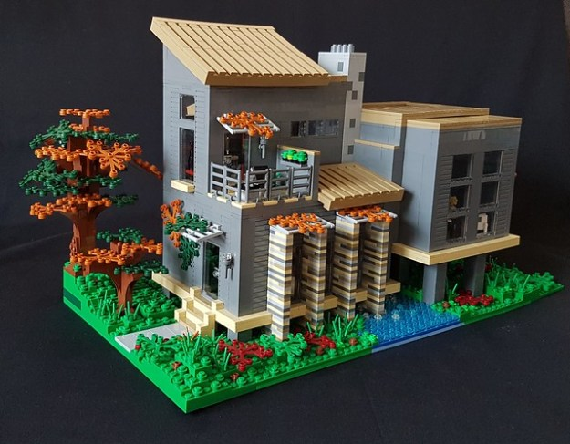 Who wouldn 39 t want to live in this lego house the brothers brick the brothers brick - Lego house interior ...