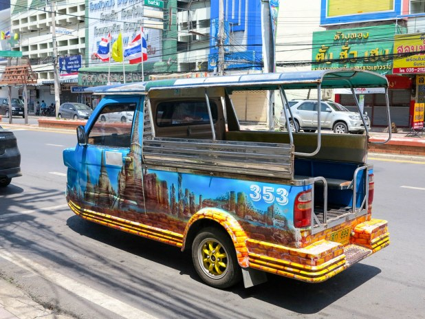 Transporte en Ayutthaya