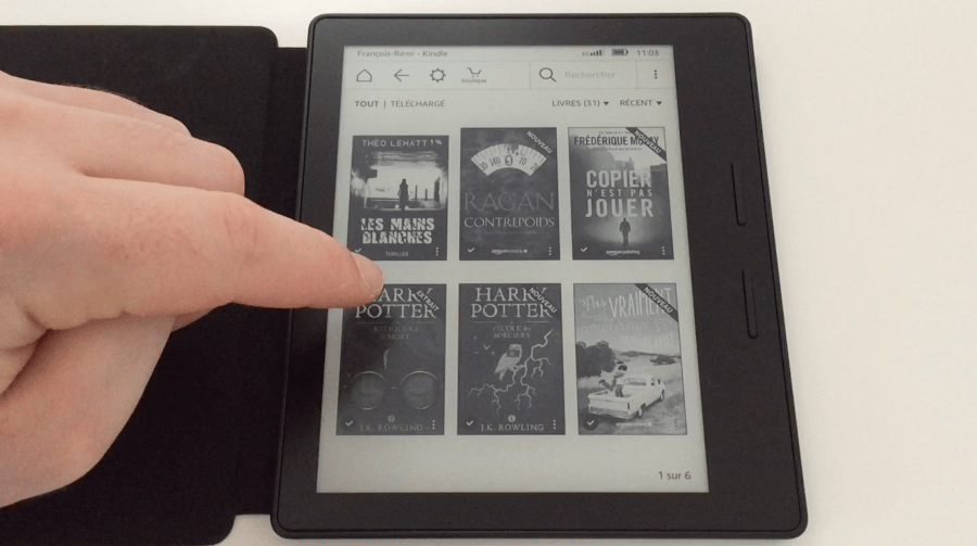 20170827 Test de la liseuse électronique Kindle OASIS Amazon 18