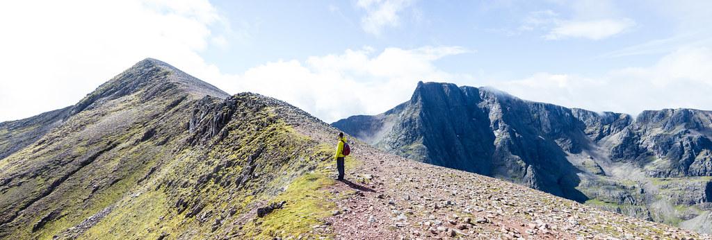 Ben Nevis: Carn Mor Dearg Arete route