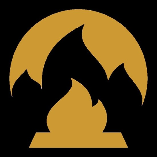 Burn Your Money - Gold Flame Large