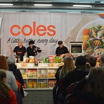 Coles cooking demo