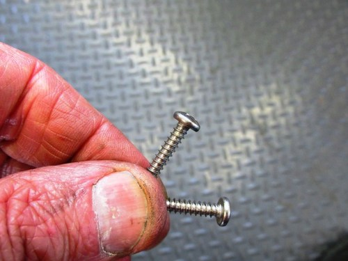 Brake Light Housing Screws