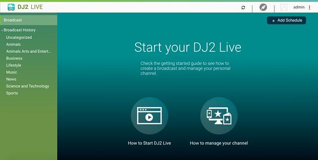 หน้าจอ DJ2 Console
