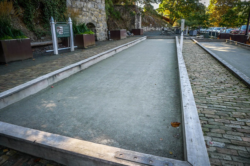 Bocce Ball Courts at Roche Harbor