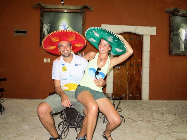 Fabrica de tequila en México