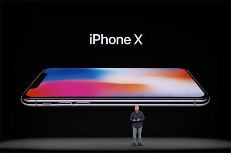 เปิดตัว iPhone X