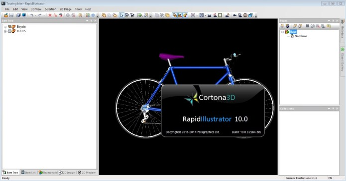 Working with Parallel Graphics Cortona3D RapidIllustrator v10.0
