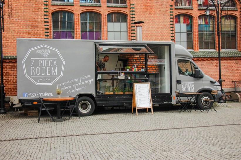 Z Pieca Rodem Pizza i Gdansk, Polen