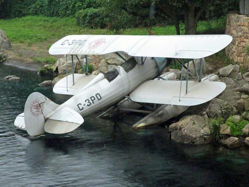 Plane in Lost River Delta