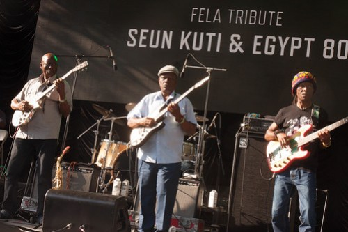 Live Concert Photography: Fela Kuti Tribute at SummerStage