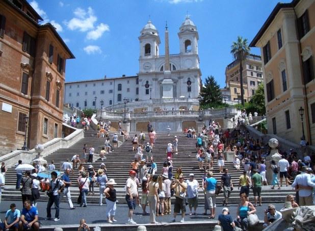 Plaza de España en Roma