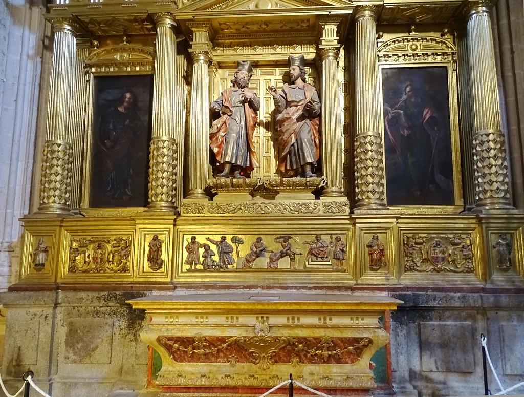 Segovia Capilla de San Cosme y San Damián Catedral de Nuestra Señora de la Asunción y de San Frutos 03