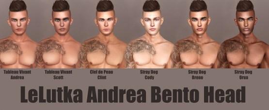 LeLutka Andrea Bento Head Skins