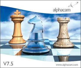 Phần mềm alphacam v7.5 full