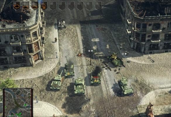 Sudden Strike 4 - Tank Brigade