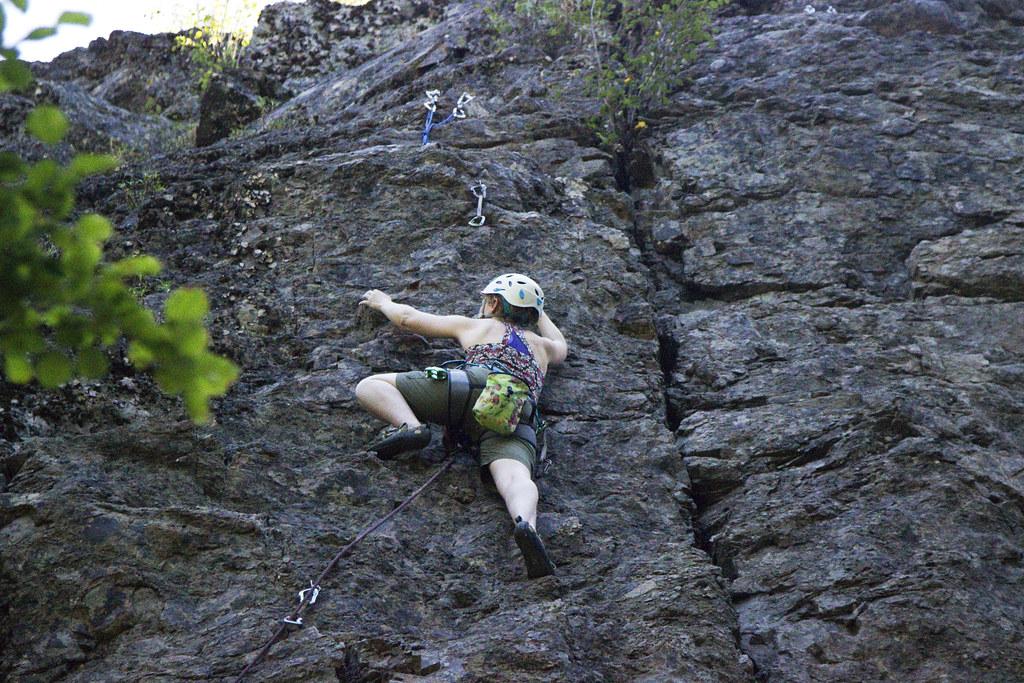 Mazama climbing
