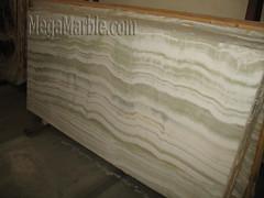 pure white onyx extra polished