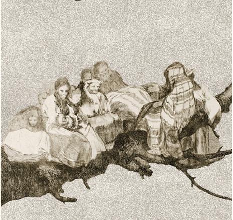 Goya Disparate ridículo