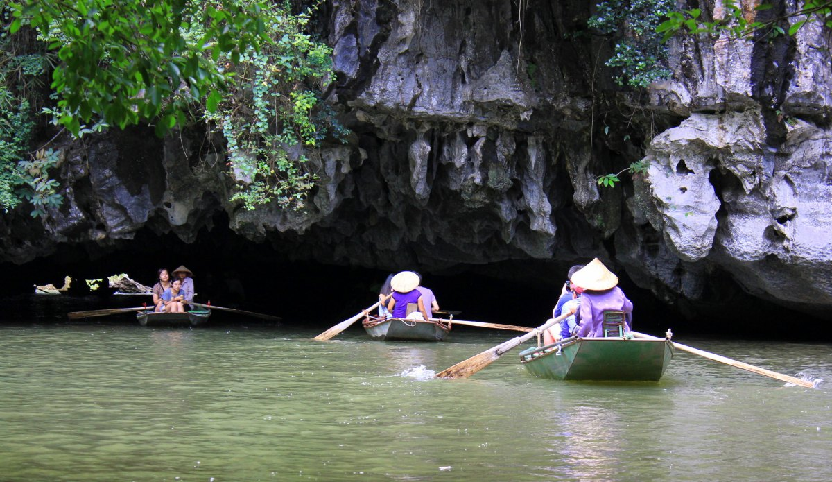 Tam Coc is a popular day trip from Hanoi