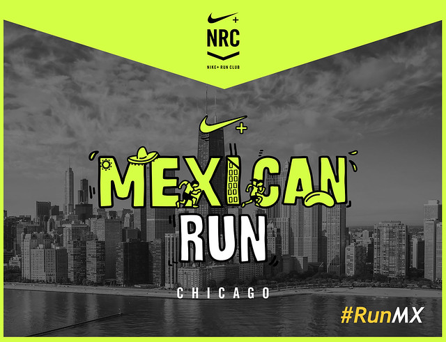 Mexican Run Chicago Marathon 2017