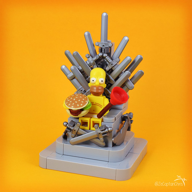 Game of Thrones - Ze Throne of Homer (The Simpsons)