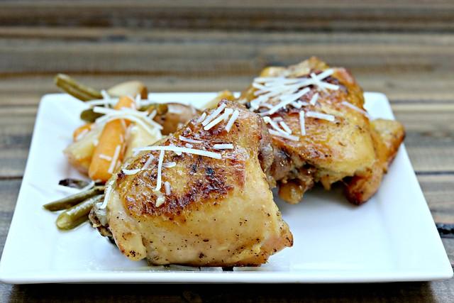 Garlic Parm Chicken Front