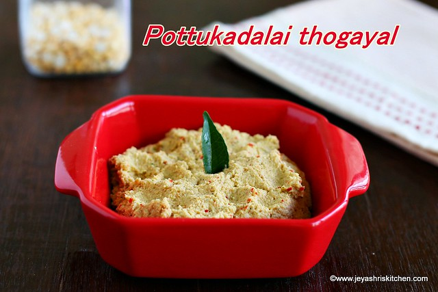 Pottukadalai-thuvayal