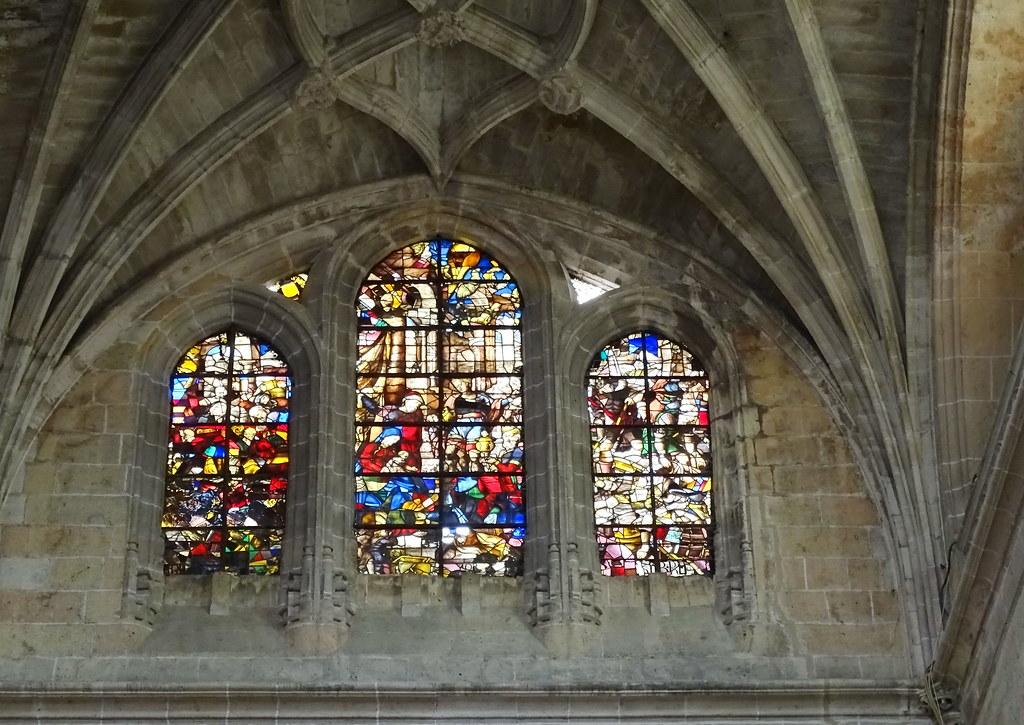 Segovia vidrieras en la Catedral de Nuestra Señora de la Asunción y de San Frutos 03