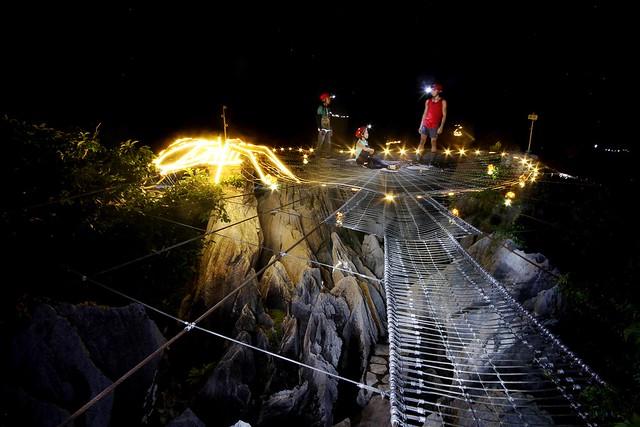 Masungi Georeserve - Discovery Trail at Night