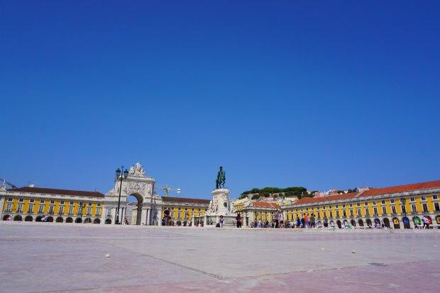 Praça do Comércio and Arco da Rua Augusta in Lisbon