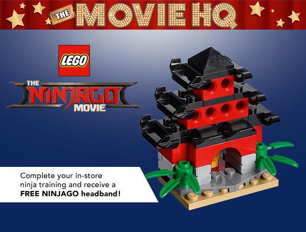 Toys'R'Us The LEGO Ninjago Movie building event