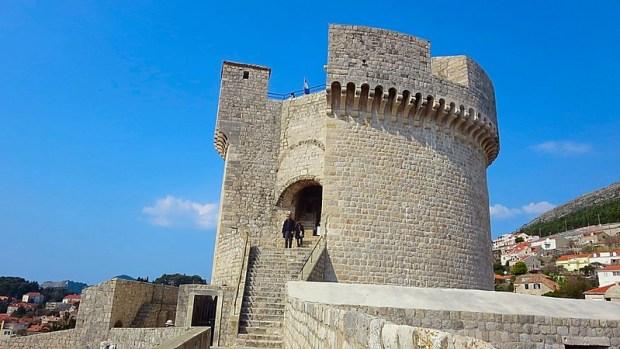 Dubrovnik medieval Croatian city