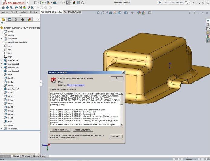Design with SolidWorks 2017 SP4.1 Full Premium full crack