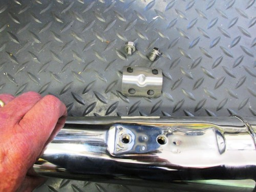 Muffler and Angle Bracket Hardware