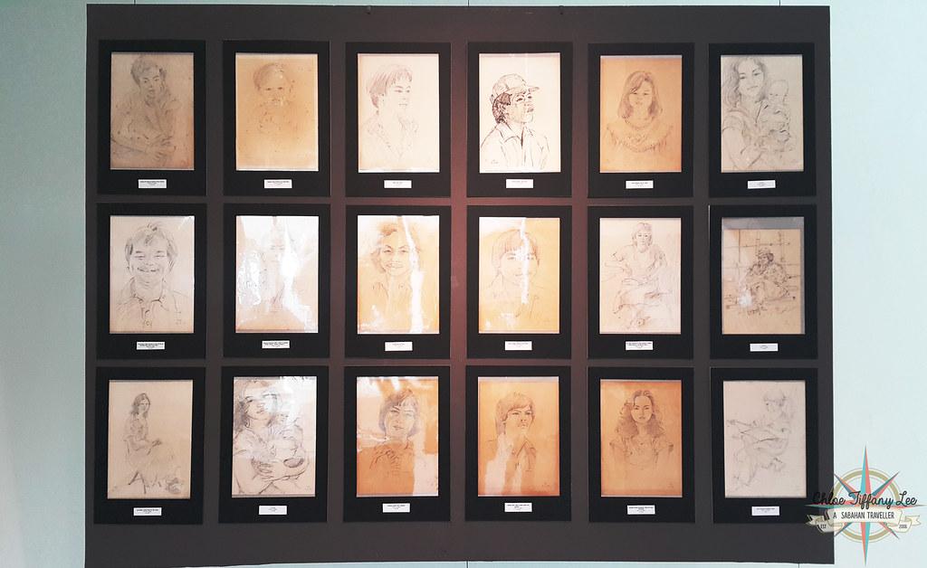 Retrospective Exhibition Remembering Tina Rimmer 1917-2017, Sabah Art Gallery, Kota Kinabalu, Chloe Tiffany Lee (1)