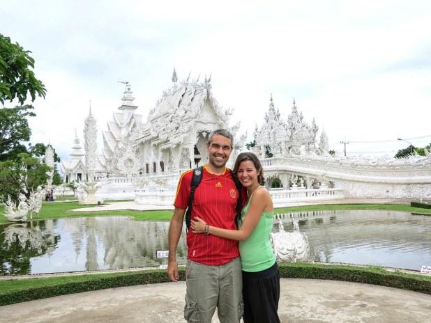 Templo Blanco en Chiangrai