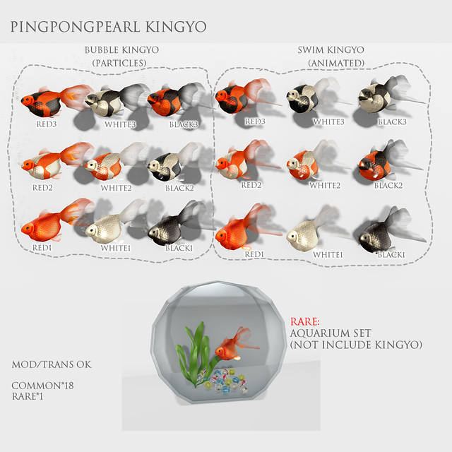 *N*PingPongPearl Kingyo Gacha