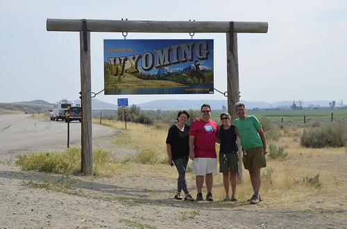 Tammie Jim Linda Pierre Wyoming Border