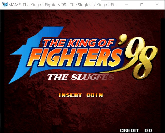 2017-08-17 21_26_26-MAME_ The King of Fighters '98 - The Slugfest _ King of Fighters '98 - dream mat