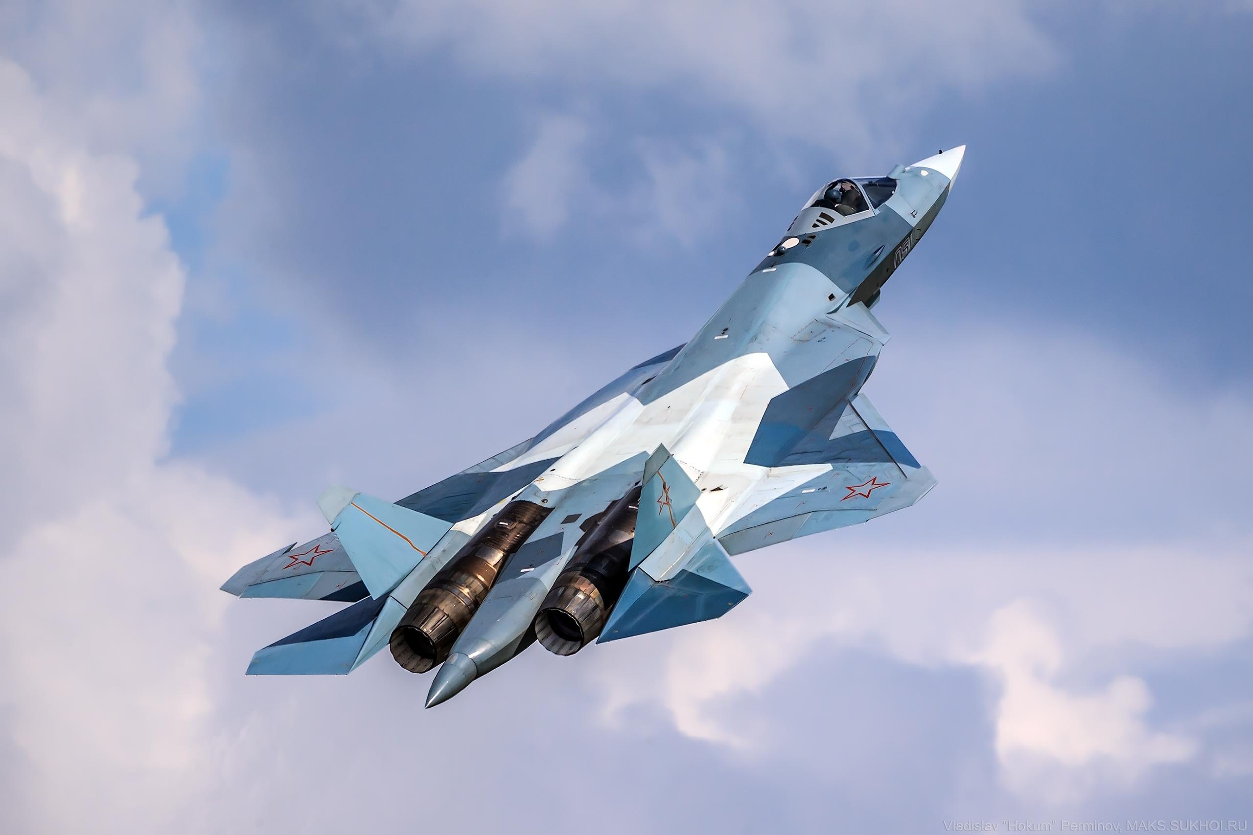 Su-57 (T-50 PAK-FA)