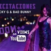 """Bad Bunny y Becky G alcanzan 100 millones de Views con """"Mayores""""."""