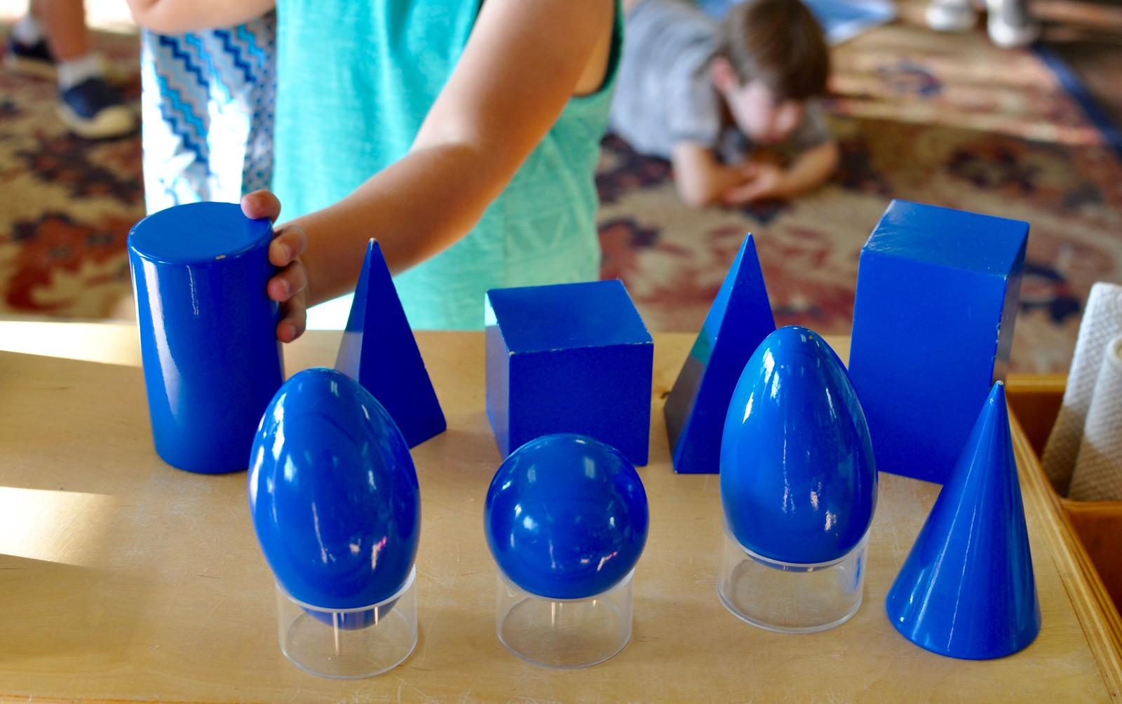Geometric Solids Villa Di Maria Montessori School Blog