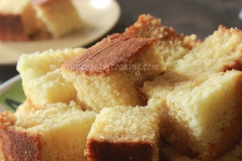 Hot milk cake 6