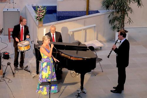 Camilla Tilling med Östgötamusiken och Staffan Mårtensson
