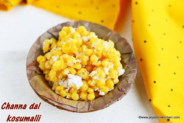 Channa dal sweet kosumalli