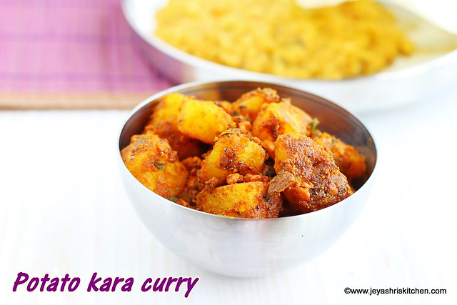 Potato kara curry