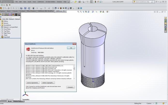 Thiết kế trên Phần mềm solidworks 2014 SP1.0 full crack