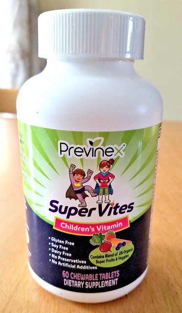 Super Vites – Children's chewable multivitamin