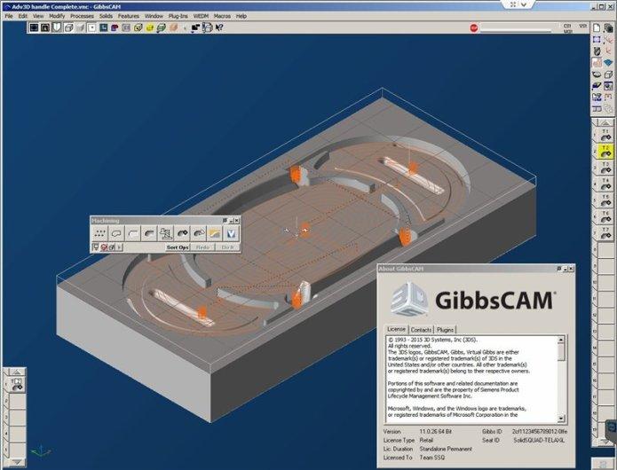 Phần mềm GibbsCAM 2015 64bit full crack